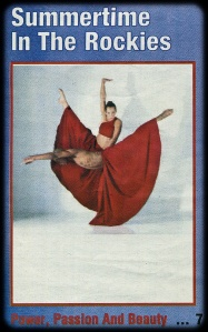 Cleo Parker Robinson Dance Ensemble Advertisement